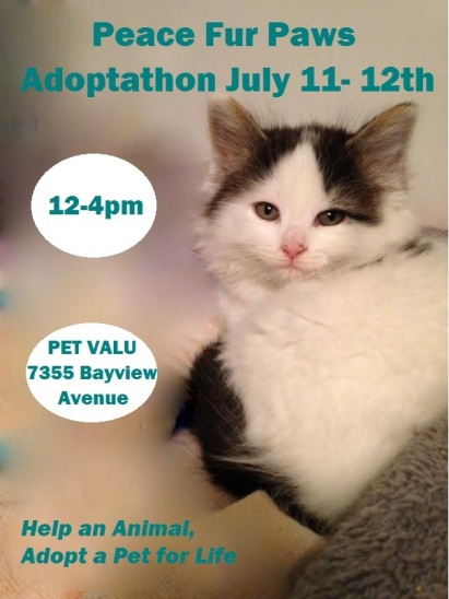 Adoptathon July 11-12th